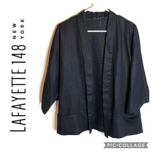 Lafayette 148 Linen No Closure Jacket Medium